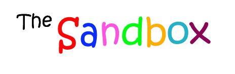 The Sandbox Title Banner